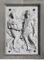 ornate relief